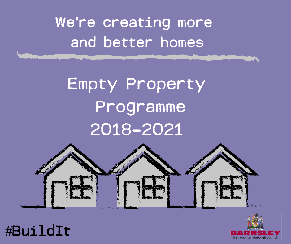 Empty property programme 2018 - 2021 flyer