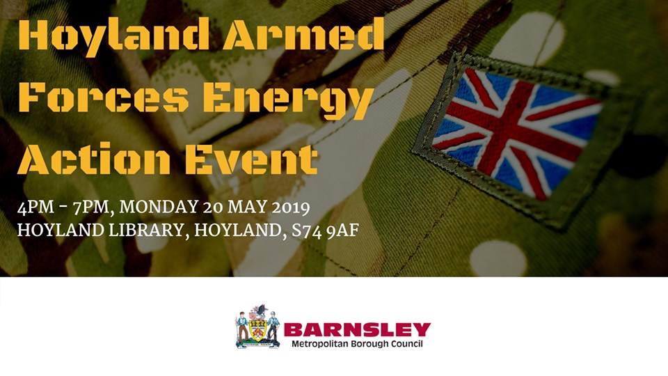 Hoyland armed forces flyer