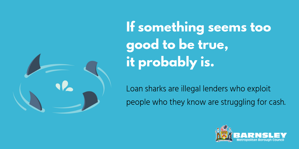 Loan shark flyer
