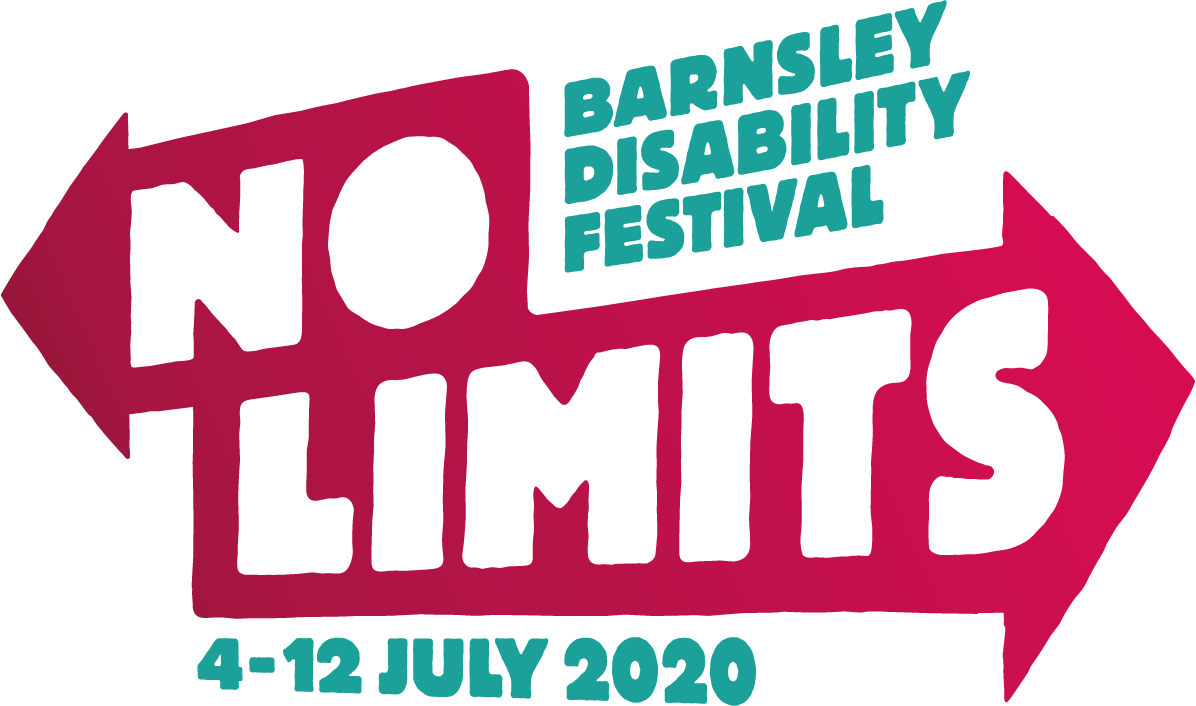 No limits - Barnsley disability festival logo