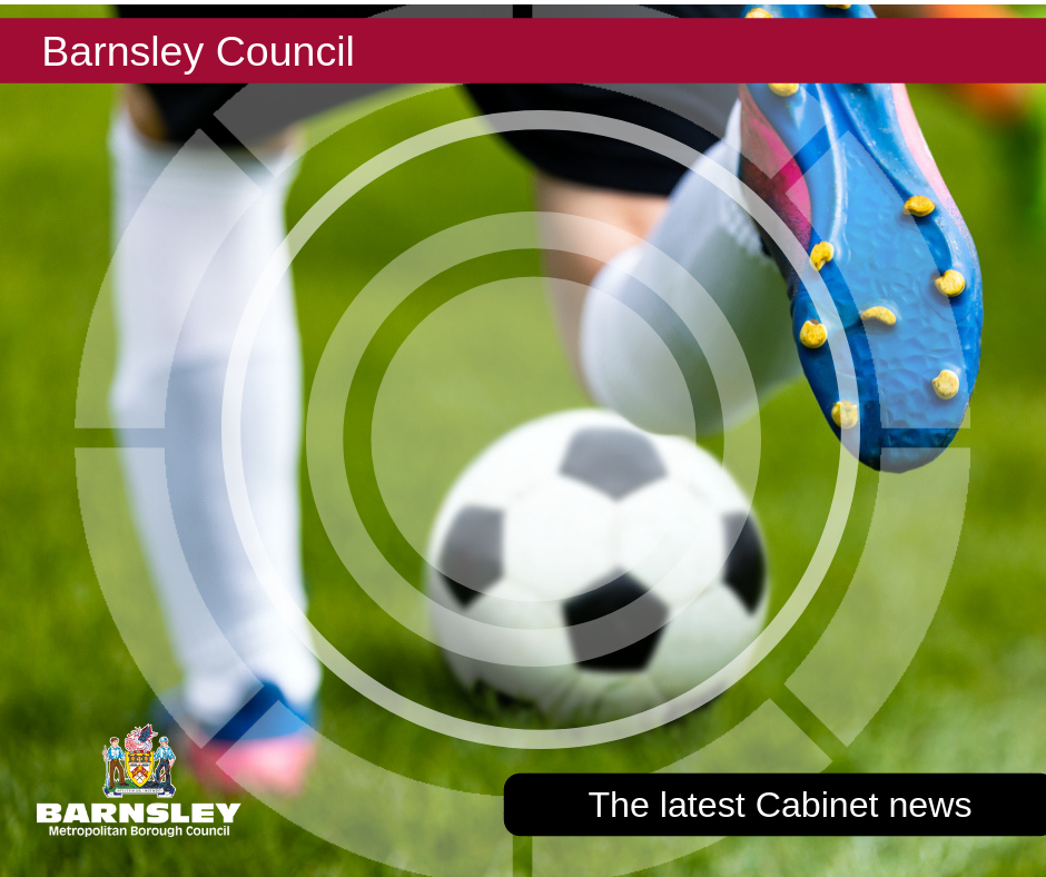 Cabinet and Full Council images - Child playing football