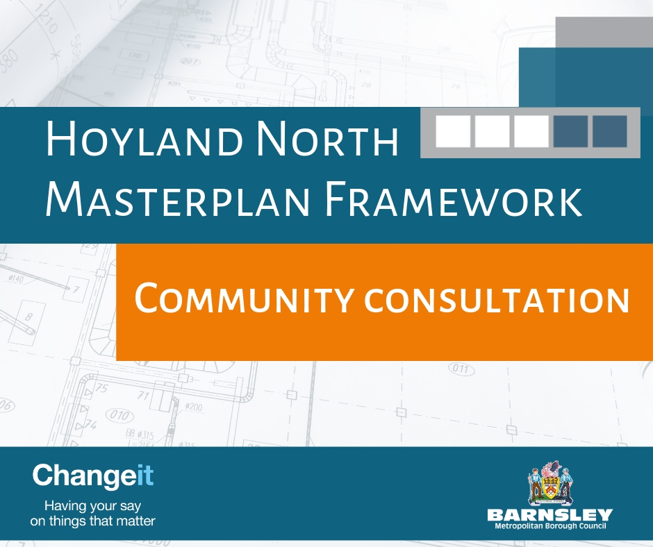 Hoyland north masterplan framework - community consultation flyer