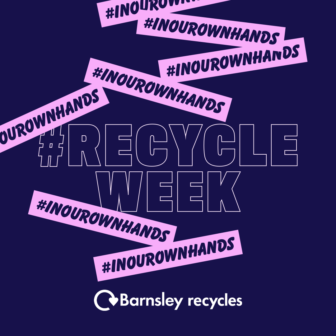 Recycle week poster
