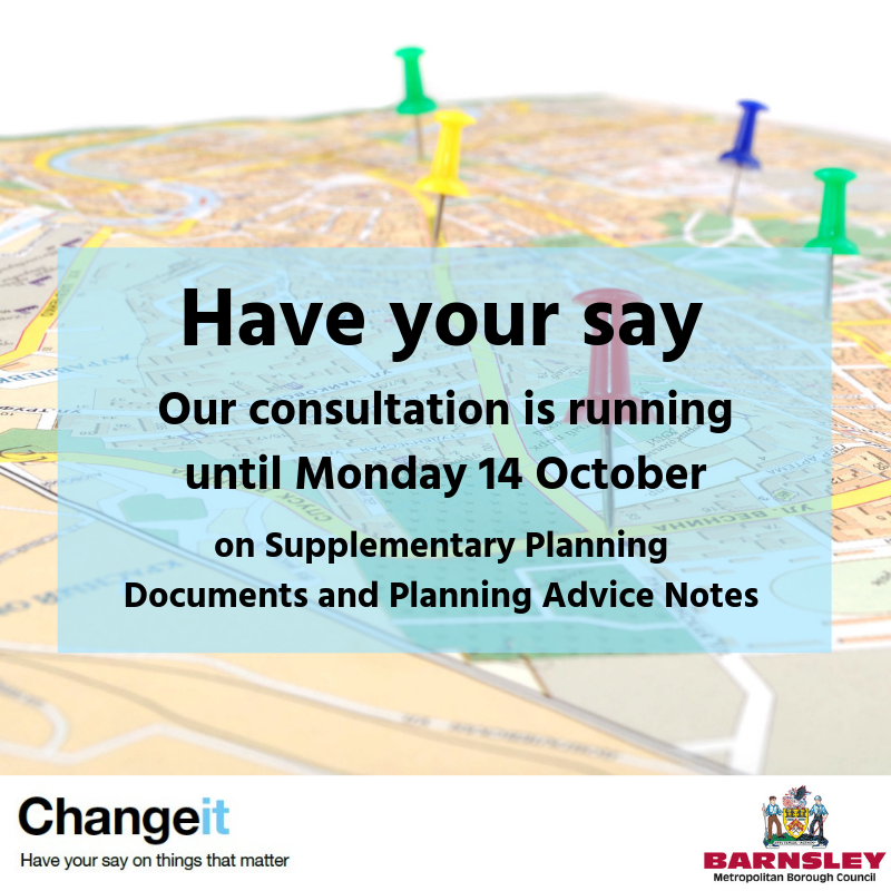 Have your say - our consultation is running until Monday 14 October