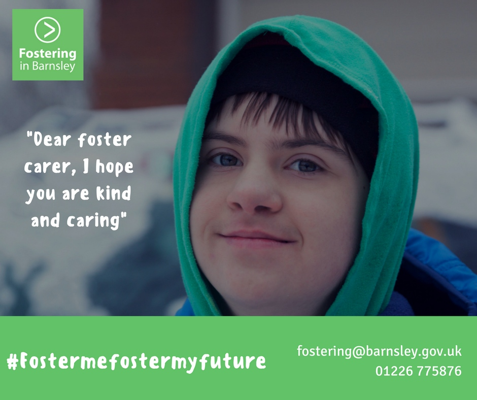 Fostering in Barnsley poster