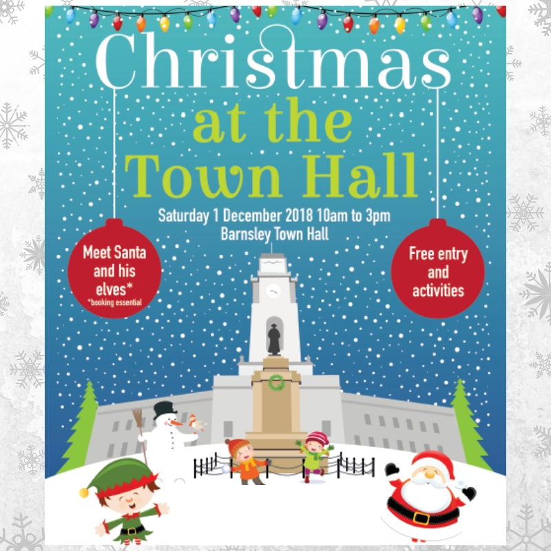 Christmas at the Town Hall poster