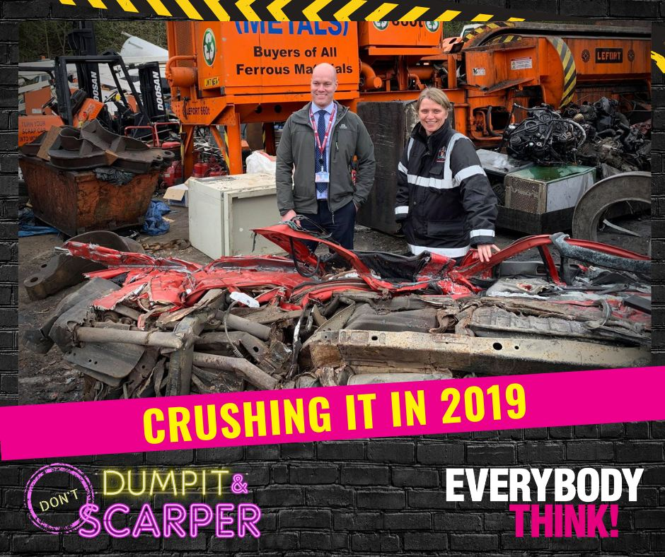 Crushing it in 2019 - dumpit and scarper - everybody think