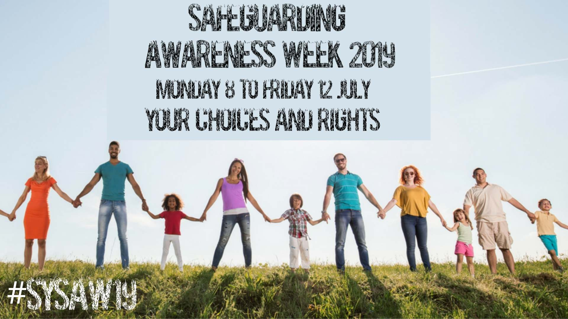 Safeguarding awareness week 2019 banner