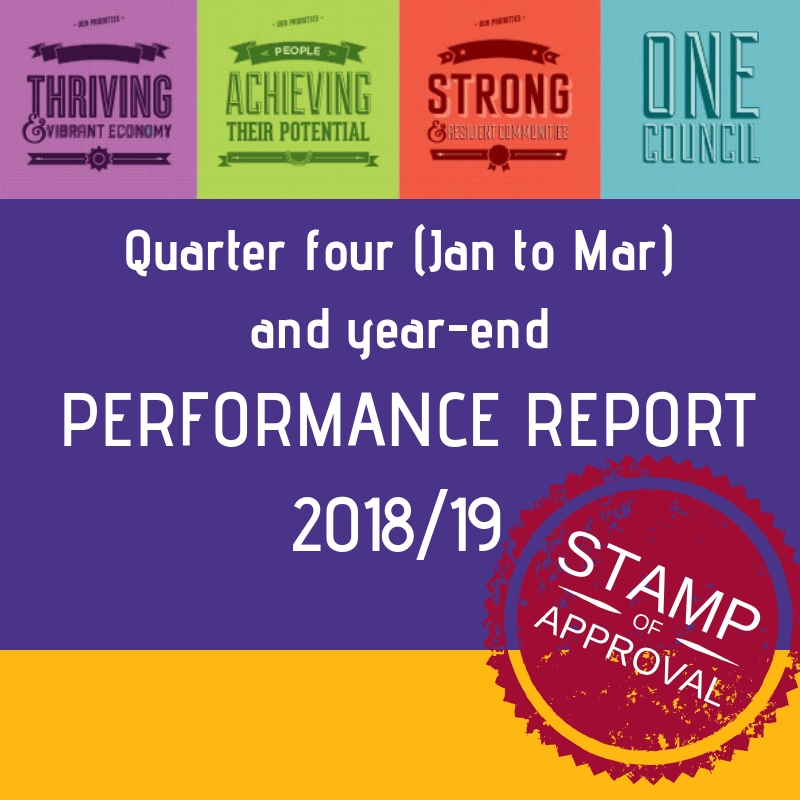 Quarter four performance report - January to March
