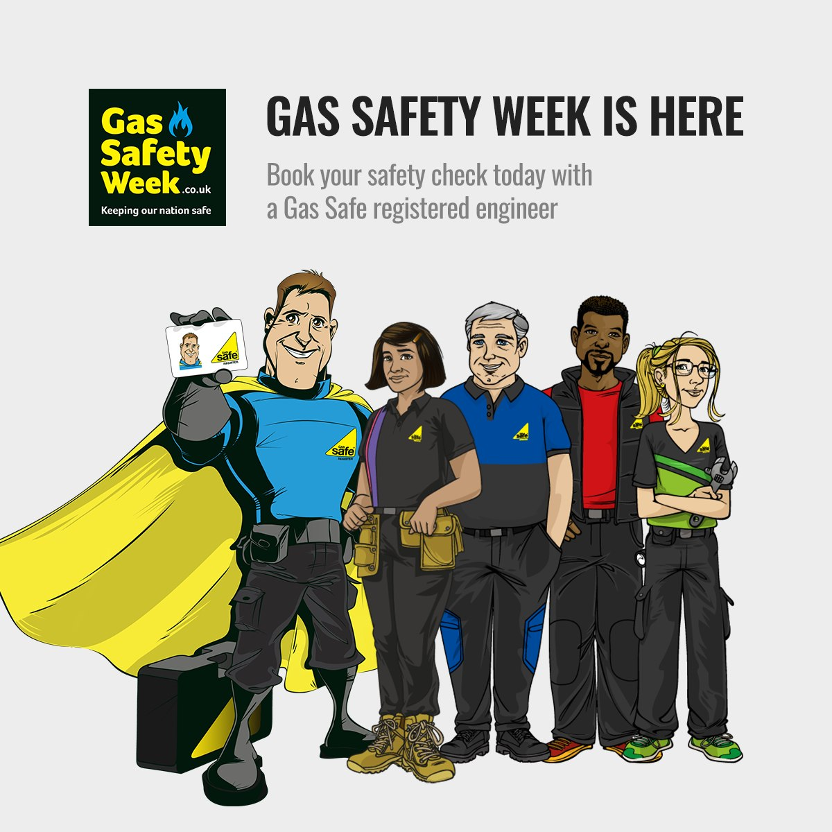 Gas safety week flyer