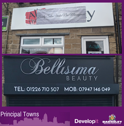 Signage for Bellisima Beauty - Cudworth