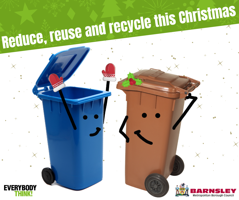 Reduce reuse and recycle this Christmas