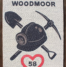 Wharncliffe Woodmoor mosaic in Athersley