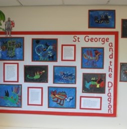Work by children from Cawthorne CE Primary School (2)