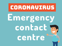 COVID-19 emergency contact centre
