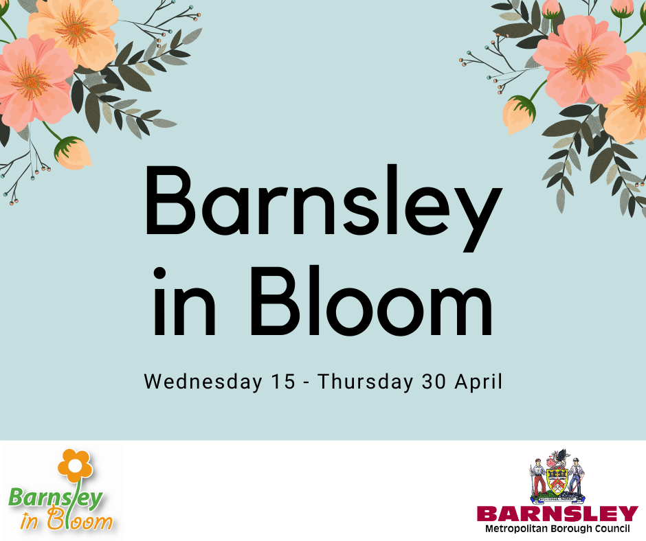 Barnsley in Bloom poster competition.