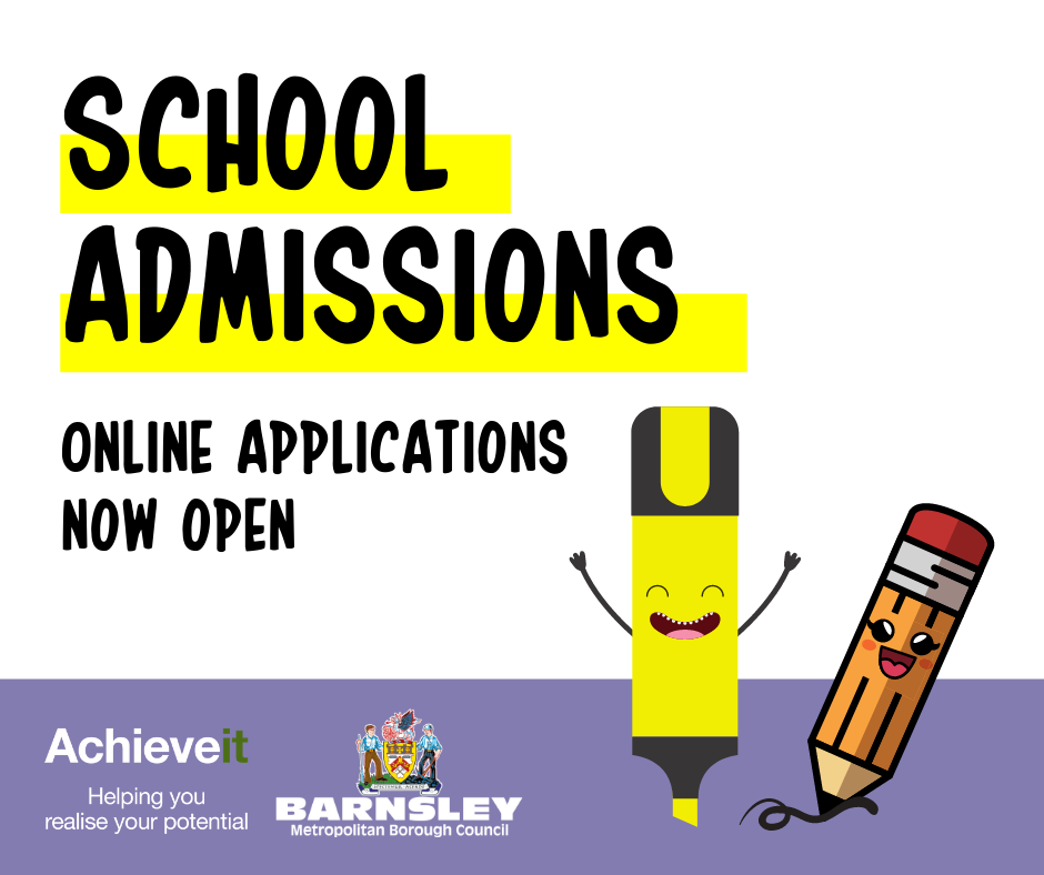 School admissions online applications now open