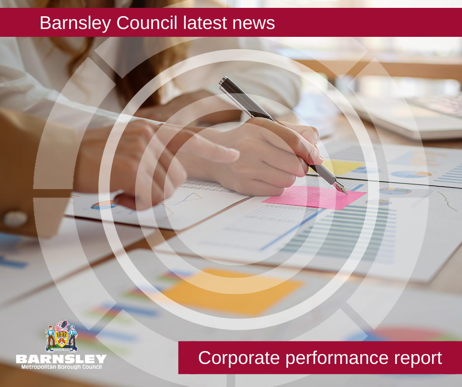 Barsnley Council latest news - corporate performance report