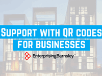 Support with QR codes for businesses