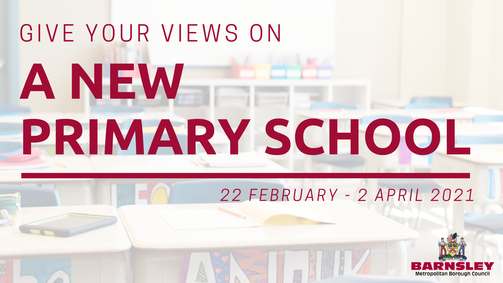 Give your views on a new primary school
