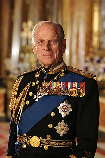Photograph of HRH The Duke of Edinburgh