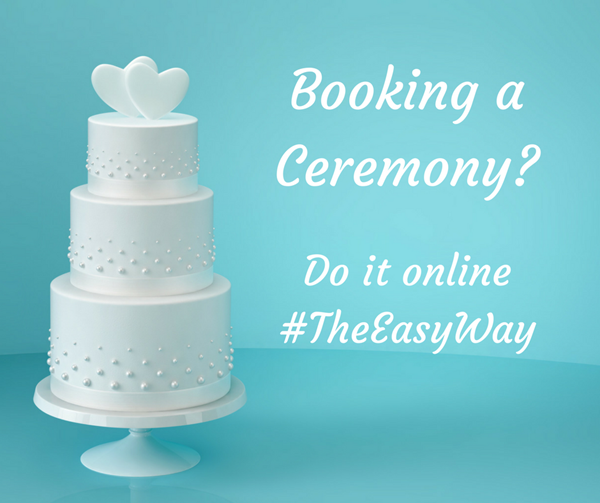 booking a ceremony