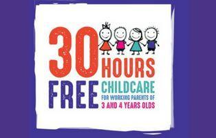 30 hours free childcare poster