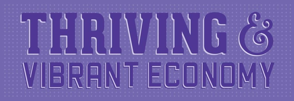 Thriving and vibrant economy