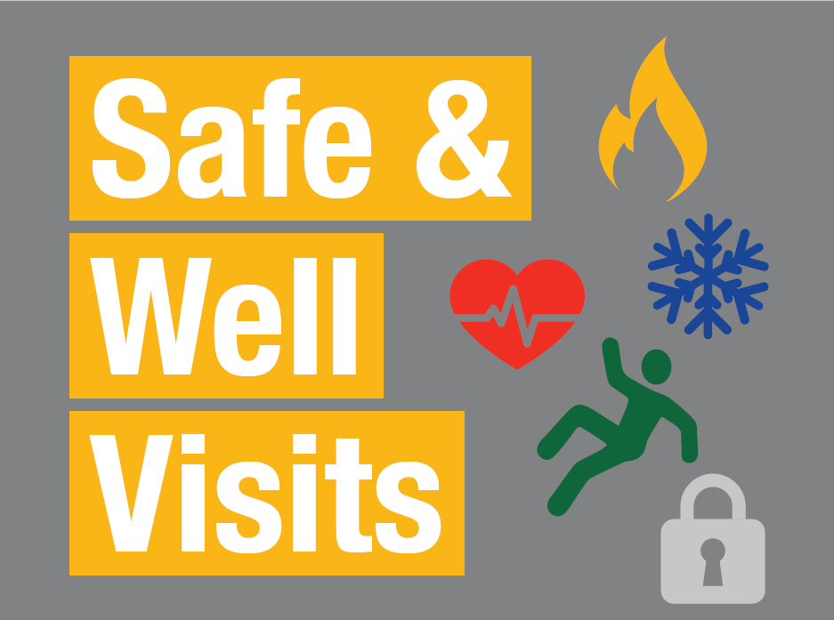 safe and well visits flyer