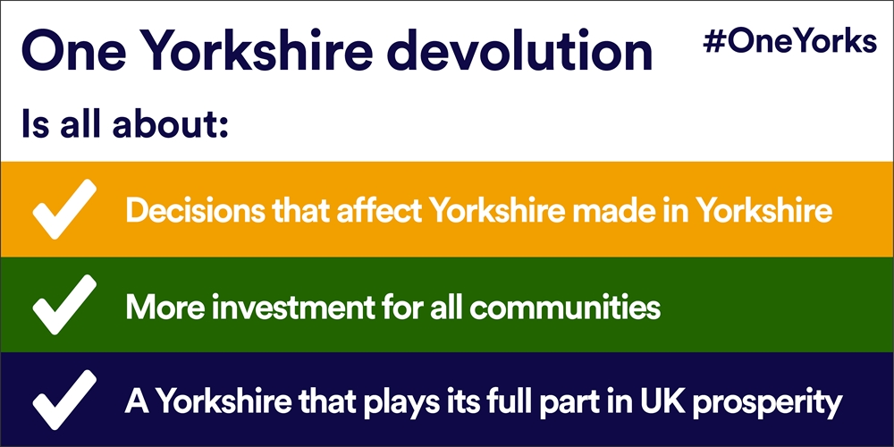 One Yorkshire devolution is about
