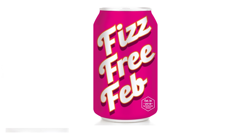 Fizz Free February can